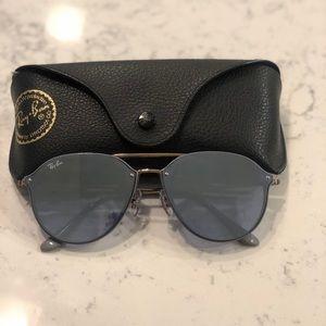 RayBan Blaze Double Bridge Sunglasses